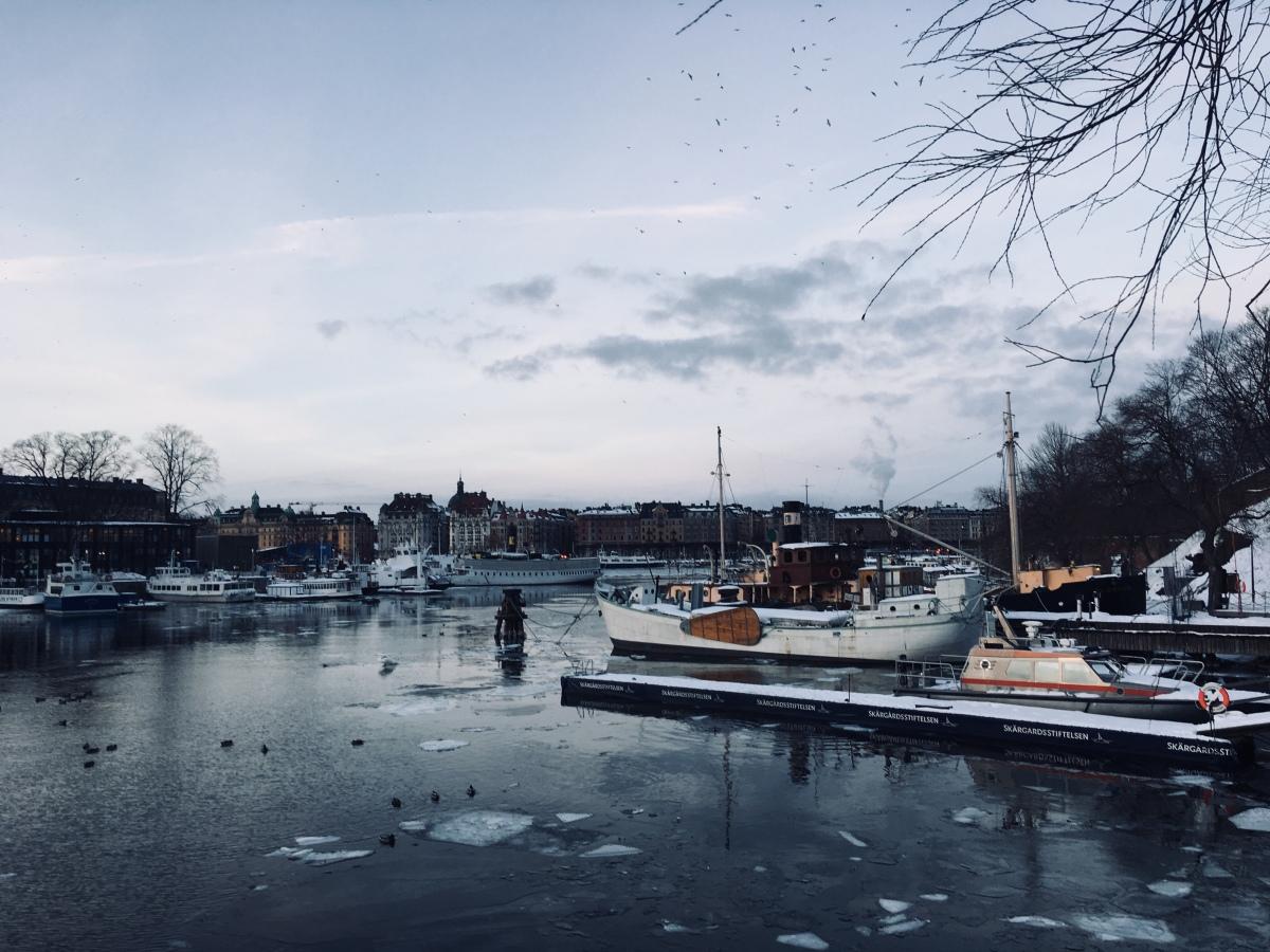 Stockholm winterland